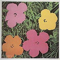 Warhol - 1964 - Flower, II.6
