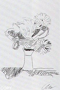 Warhol - 1974 - Flowers, II.103,(Black&White)