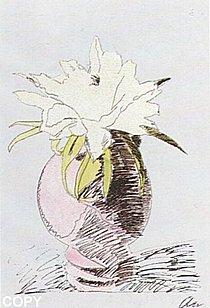 Warhol - 1974 - Flowers, II.114,(HandColored)