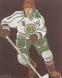 Warhol - 1986 - Frolunda Hockey Player, II.366