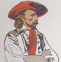 Warhol - 1986 - General Custer, II.379