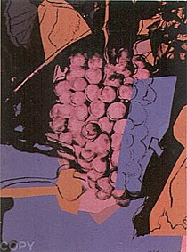 Warhol - 1979 - Grapes (Special Edition), II.193A