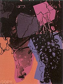 Warhol - 1979 - Grapes (Special Edition), II.195A