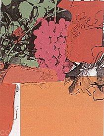 Warhol - 1979 - Grapes, II.190