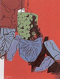 Warhol - 1979 - Grapes, II.194