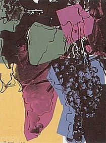 Warhol - 1979 - Grapes, II.195