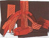 Warhol - 1977 - Hammer and Sickle, II.161