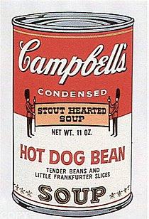Warhol - 1969 - Hot Dog Bean, II.59