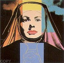 Warhol - 1983 - Ingrid Bergman, the Nun, II.314