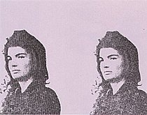 Warhol - 1966 - Jackie II, II.14