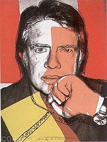 Warhol - 1976 - Jimmy Carter I, II.150