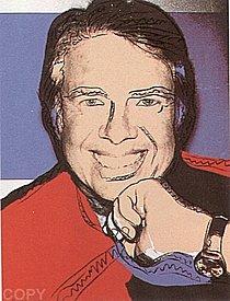 Warhol - 1977 - Jimmy Carter II, II.151