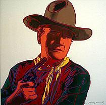 Warhol - 1986 - John Wayne, II.377