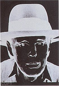 Warhol - 1980 - Joseph Beuys, II.245