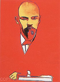 Warhol - 1987 - Lenin (Red), II.403