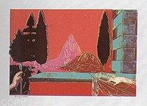 Warhol - 1984 - Leonardo da Vinci, The Annunciation, 1472, II.320