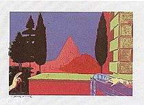 Warhol - 1984 - Leonardo da Vinci, The Annunciation, 1472, II.323