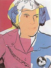 Warhol - 1977 - Lillian Carter, II.153