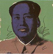 Warhol - 1972 - Mao, II.90