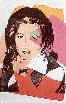 Warhol - 1975 - Marcia Weisman, II.122
