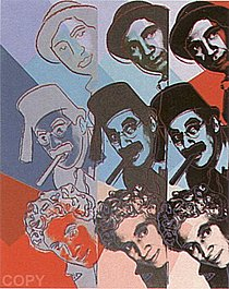 Warhol - 1980 - The Marx Brothers, II.232