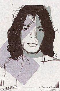Warhol - 1975 - Mick Jagger, II.138
