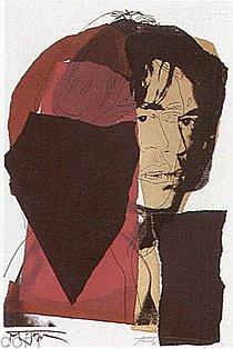 Warhol - 1975 - Mick Jagger, II.139