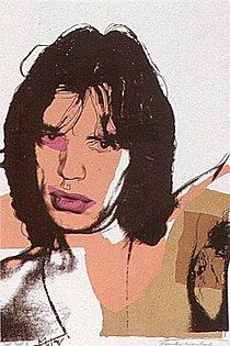 Warhol - 1975 - Mick Jagger, II.141