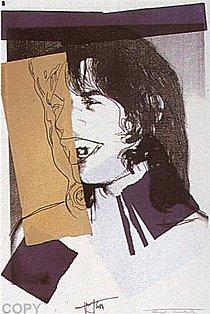 Warhol - 1975 - Mick Jagger, II.142