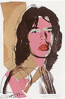 Warhol - 1975 - Mick Jagger, II.143