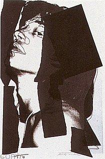 Warhol - 1975 - Mick Jagger, II.144