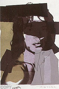 Warhol - 1975 - Mick Jagger, II.145