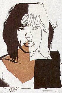 Warhol - 1975 - Mick Jagger, II.146