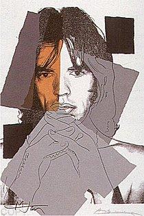 Warhol - 1975 - Mick Jagger, II.147