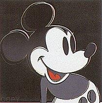 Warhol - 1981 - Mickey Mouse, II.265