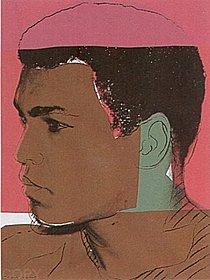 Warhol - 1978 - Muhammad Ali, II.179