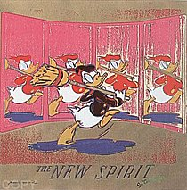 Warhol - 1985 - The New Spirit (Donald Duck), II.357