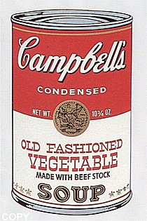 Warhol - 1969 - Old Fashioned Vegetable, II.54