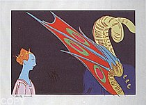 Warhol - 1984 - Paolo Uccello, St. George and the Dragon, 1460, II.327