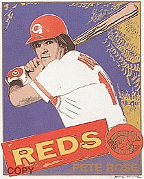 Warhol - 1985 - Pete Rose, II.360B