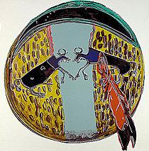 Warhol - 1986 - Plains Indian Shield, II.382