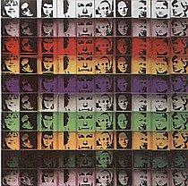 Warhol - 1967 - Portraits of the Artists, II.17