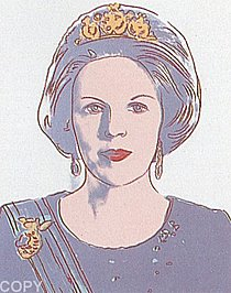 Warhol - 1985 - Queen Beatrix of the Netherlands, II.339