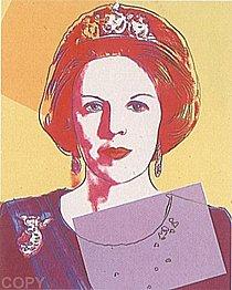 Warhol - 1985 - Queen Beatrix of the Netherlands, II.341