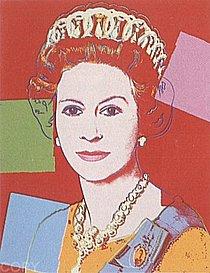 Warhol - 1985 - Queen Elizabeth II of the United Kingdom, II.334