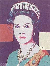 Warhol - 1985 - Queen Elizabeth II of the United Kingdom, II.335