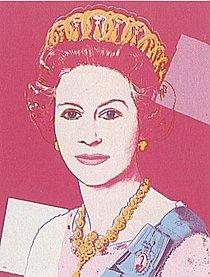Warhol - 1985 - Queen Elizabeth II of the United Kingdom, II.336