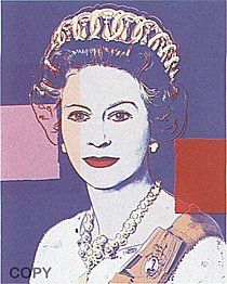 Warhol - 1985 - Queen Elizabeth II of the United Kingdom, II.337