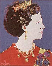Warhol - 1985 - Queen Margrethe II of Denmark, II.343