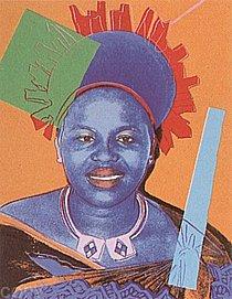Warhol - 1985 - Queen Ntombi Twala of Swaziland, II.347